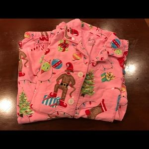 Nick & Nora Flannel Pajama Set